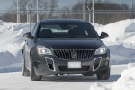 2014 Buick Regal GS AWD in Smoky Gray Metallic - Driving Frontal View
