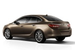 2012 Buick Verano in Mocha Bronze Metallic - Static Rear Three-quarter View