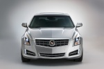 2013 Cadillac ATS 2.0T in Radiant Silver Metallic - Static Frontal View