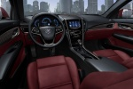 Picture of 2013 Cadillac ATS Cockpit in Morello Red