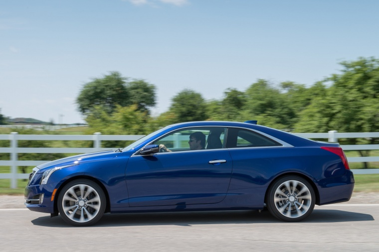 2015 Cadillac ATS Coupe 2.0T in Dark Adriatic Blue ...