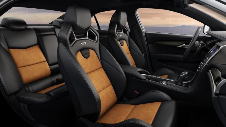 2018 Cadillac ATS-V Sedan Front Seats Picture