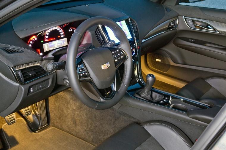 2018 Cadillac ATS-V Sedan Interior Picture
