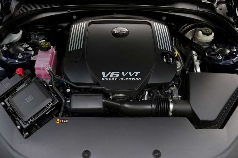 2018 Cadillac ATS Coupe  3.6-liter V6 Engine Picture
