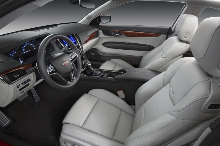 2018 Cadillac ATS Coupe 3.6 Front Seats Picture