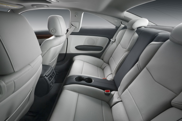 2018 Cadillac ATS Coupe 3.6 Rear Seats Picture