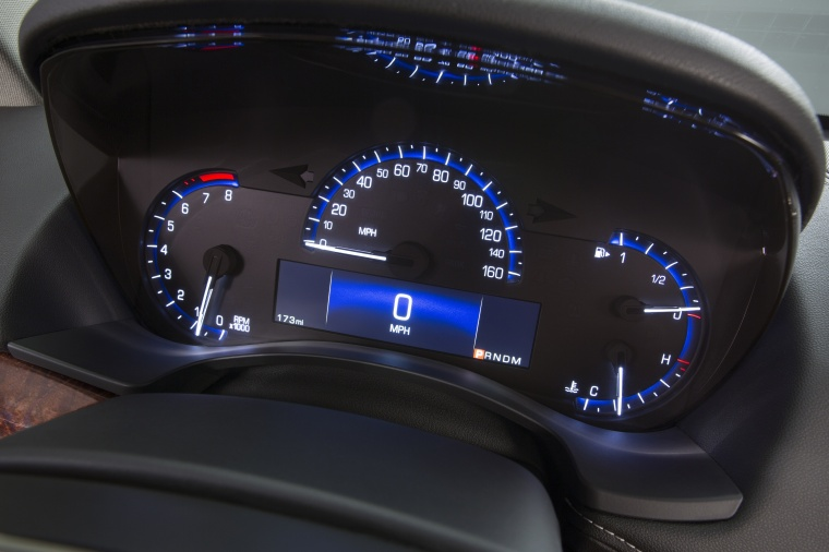 2018 Cadillac ATS Coupe 3.6 Gauges Picture