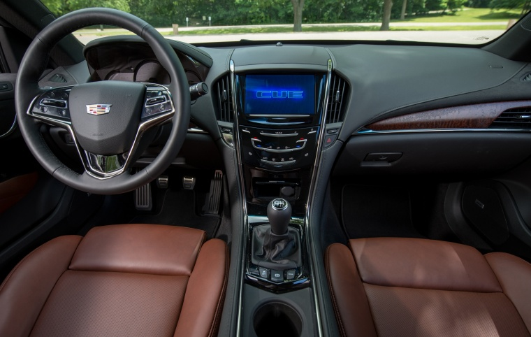 2018 Cadillac ATS Coupe 2.0T Cockpit Picture
