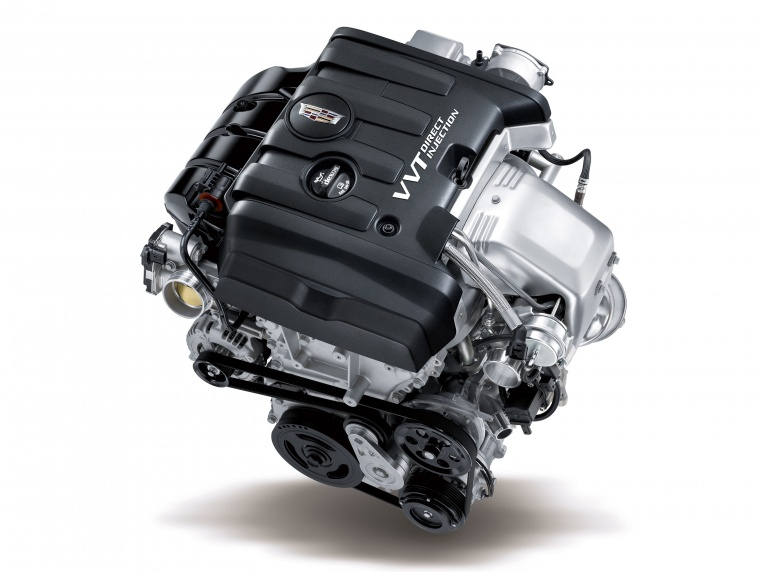 2018 Cadillac ATS 2.0-liter 4-cylinder turbocharged Engine Picture
