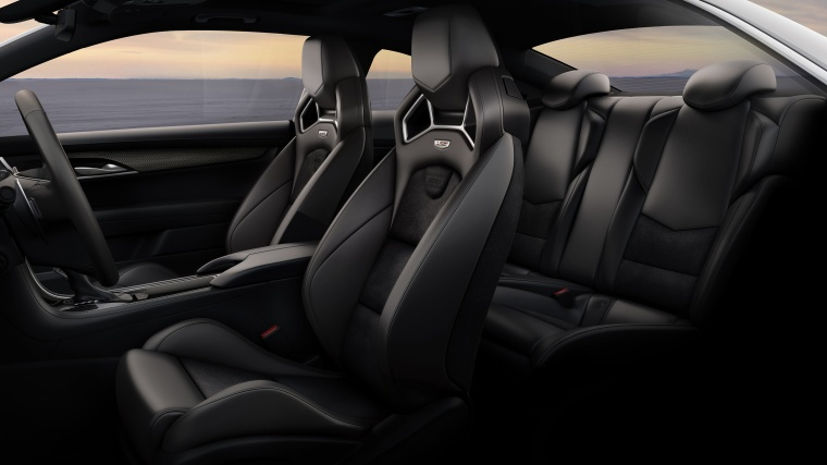 2018 Cadillac ATS-V Coupe Interior Picture