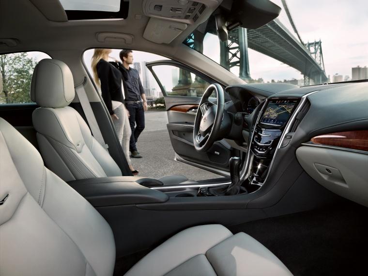 2018 Cadillac ATS Sedan Front Seats Picture