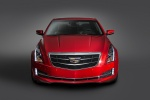 2018 Cadillac ATS Coupe 3.6 in Red Obsession Tintcoat - Static Frontal View
