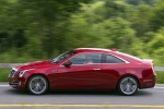 2018 Cadillac ATS Coupe 3.6 in Red Obsession Tintcoat - Driving Side View