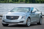 2018 Cadillac ATS Coupe 2.0T in Radiant Silver Metallic - Static Front Left View