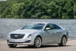 2018 Cadillac ATS Coupe 2.0T in Radiant Silver Metallic - Static Front Left Three-quarter View