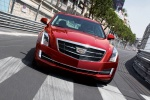 2018 Cadillac ATS Sedan 2.0T in Red Obsession Tintcoat - Driving Frontal View