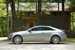 2018 Cadillac ATS Coupe 2.0T in Radiant Silver Metallic - Static Left Side View