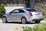 2018 Cadillac ATS Coupe 2.0T in Radiant Silver Metallic - Static Rear Left Three-quarter View