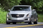 2018 Cadillac ATS Coupe 2.0T in Radiant Silver Metallic - Driving Frontal View
