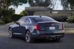2018 Cadillac ATS Coupe 2.0T in Dark Adriatic Blue Metallic - Static Rear Left View