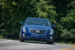 2018 Cadillac ATS Coupe 2.0T in Dark Adriatic Blue Metallic - Driving Frontal View