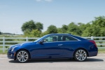 2018 Cadillac ATS Coupe 2.0T in Dark Adriatic Blue Metallic - Driving Side View