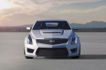2018 Cadillac ATS-V Coupe in Crystal White Tricoat - Static Frontal View