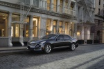 2016 Cadillac CT6 3.0TT AWD Sedan in Graphite Metallic - Static Front Left Three-quarter View