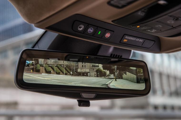 2018 Cadillac CT6 3.0TT AWD Sedan Rear-View Mirror Picture