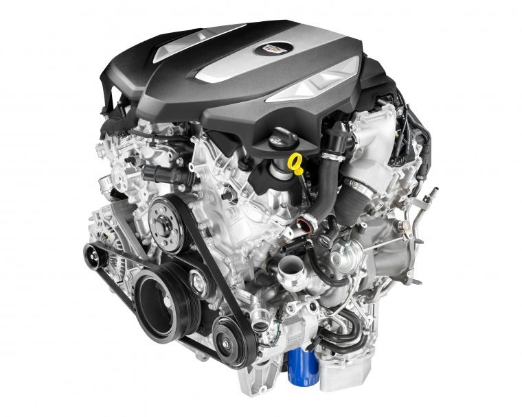 2018 Cadillac CT6 3.0TT AWD Sedan 3.0-liter Twin-Turbo V6 Engine Picture