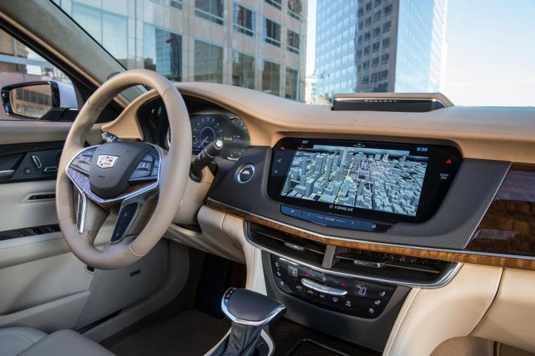 2018 Cadillac CT6 3.0TT AWD Sedan Interior Picture