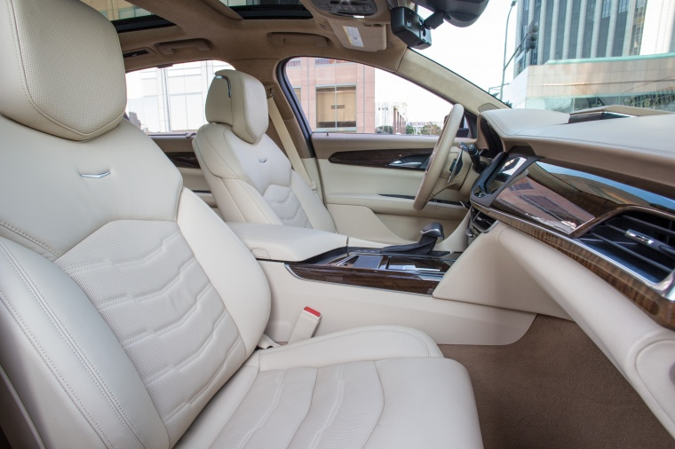 2018 Cadillac CT6 3.0TT AWD Sedan Front Seats Picture