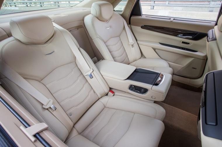 2018 Cadillac CT6 3.0TT AWD Sedan Rear Seats Picture