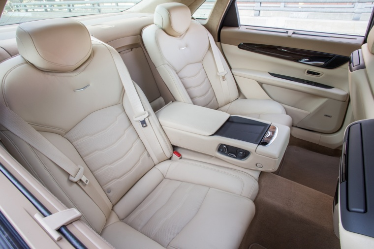 2018 Cadillac CT6 3.0TT AWD Sedan Rear Seats Picture