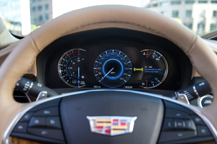 2018 Cadillac CT6 3.0TT AWD Sedan Gauges Picture