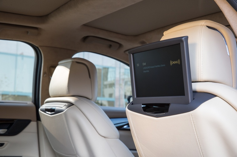 2018 Cadillac CT6 3.0TT AWD Sedan Rear-Seat Entertainment Picture