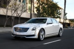 2018 Cadillac CT6 3.0TT AWD Sedan in Crystal White Tricoat - Driving Front Left View