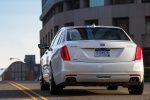 2018 Cadillac CT6 3.0TT AWD Sedan in Crystal White Tricoat - Driving Rear View