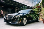 2018 Cadillac CT6 2.0E Plug-In Hybrid in Stellar Black Metallic - Static Front Left Three-quarter View