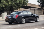 2018 Cadillac CT6 3.0TT AWD Sedan in Dark Adriatic Blue Metallic - Driving Rear Right Three-quarter View
