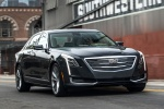 2018 Cadillac CT6 3.0TT AWD Sedan in Dark Adriatic Blue Metallic - Driving Front Right View