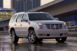 2010 Cadillac Escalade Hybrid in White Diamond Tricoat - Static Front Right View
