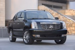 2010 Cadillac Escalade EXT in Black Raven - Static Front Right Three-quarter View
