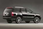 2011 Cadillac Escalade in Black Raven - Static Rear Right Three-quarter View