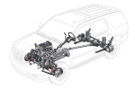 Picture of 2011 Cadillac Escalade Drivetrain