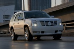 2011 Cadillac Escalade Hybrid in White Diamond Tricoat - Static Front Right View