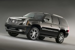 2012 Cadillac Escalade in Black Raven - Static Front Left Three-quarter View