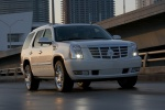 2013 Cadillac Escalade Hybrid in White Diamond Tricoat - Static Front Right View