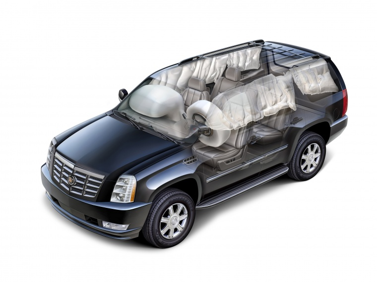 2014 Cadillac Escalade Airbags Picture
