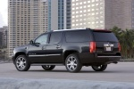 2014 Cadillac Escalade ESV in Black Raven - Static Rear Left Three-quarter View